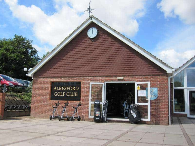 Alresford Golf Club Pro Shop Entrance