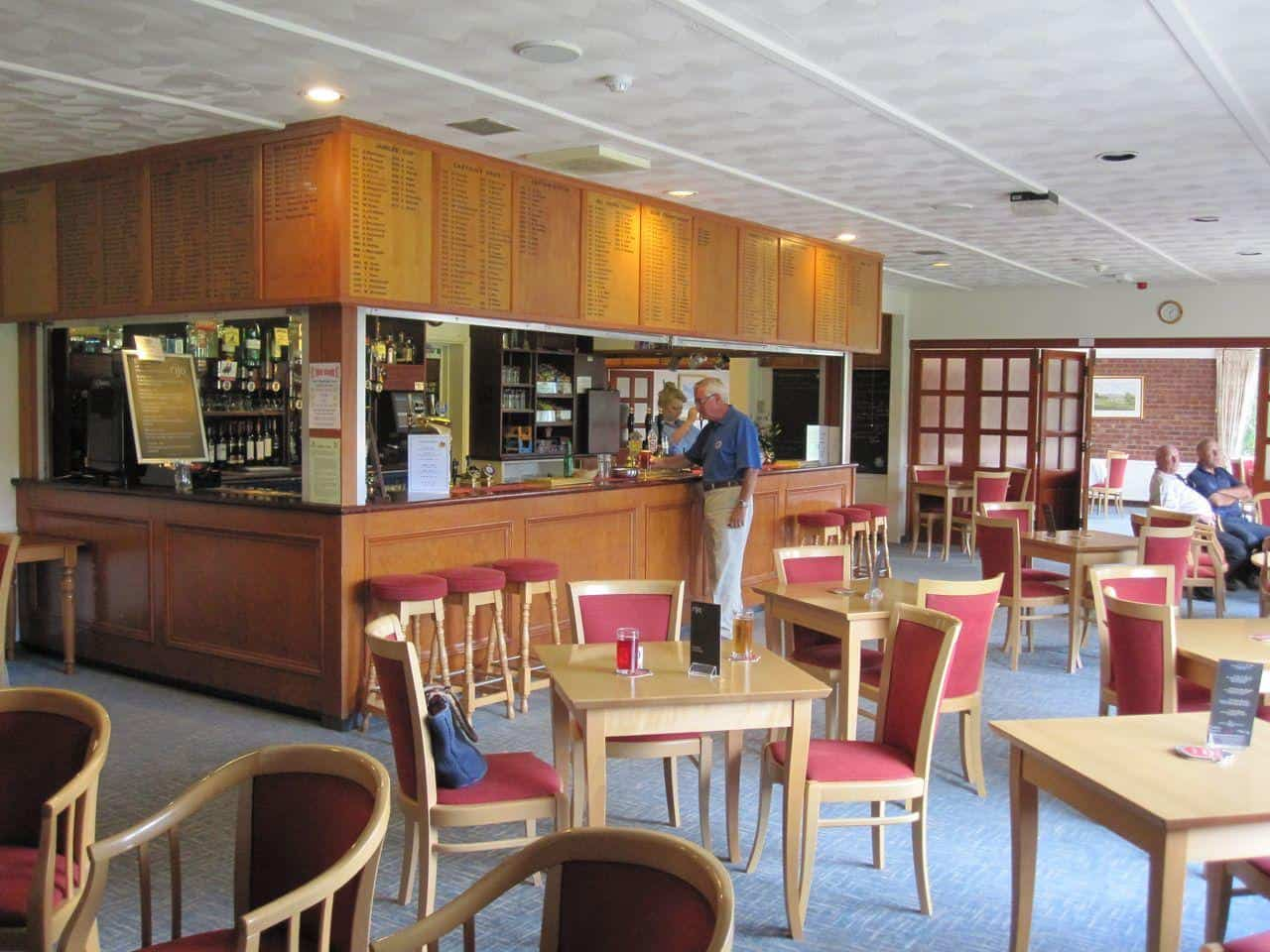 Clubhouse Bar Area