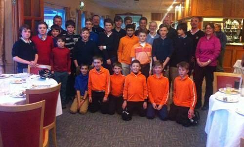 """Prep"" School Golfers at Alresford"