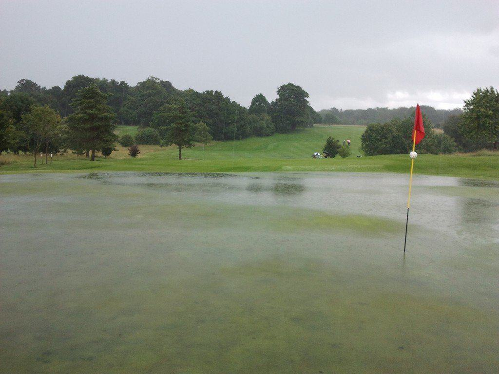 17th Green and Fairway
