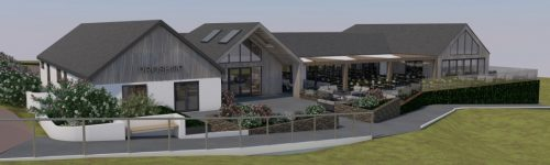 Proposed Clubhouse East Elevation